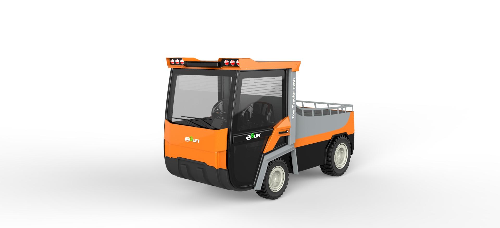 叉车25T牵引车 (3)