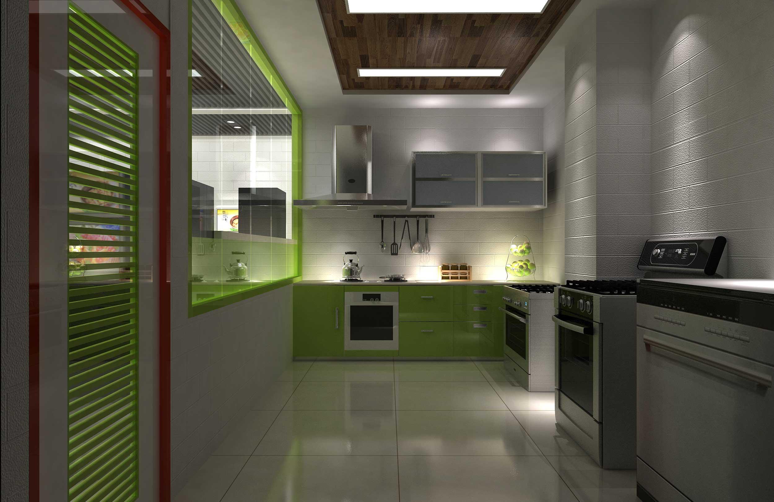 厨房渲染2