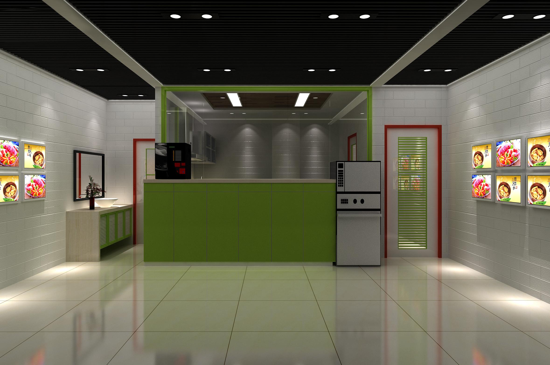 厨房渲染1