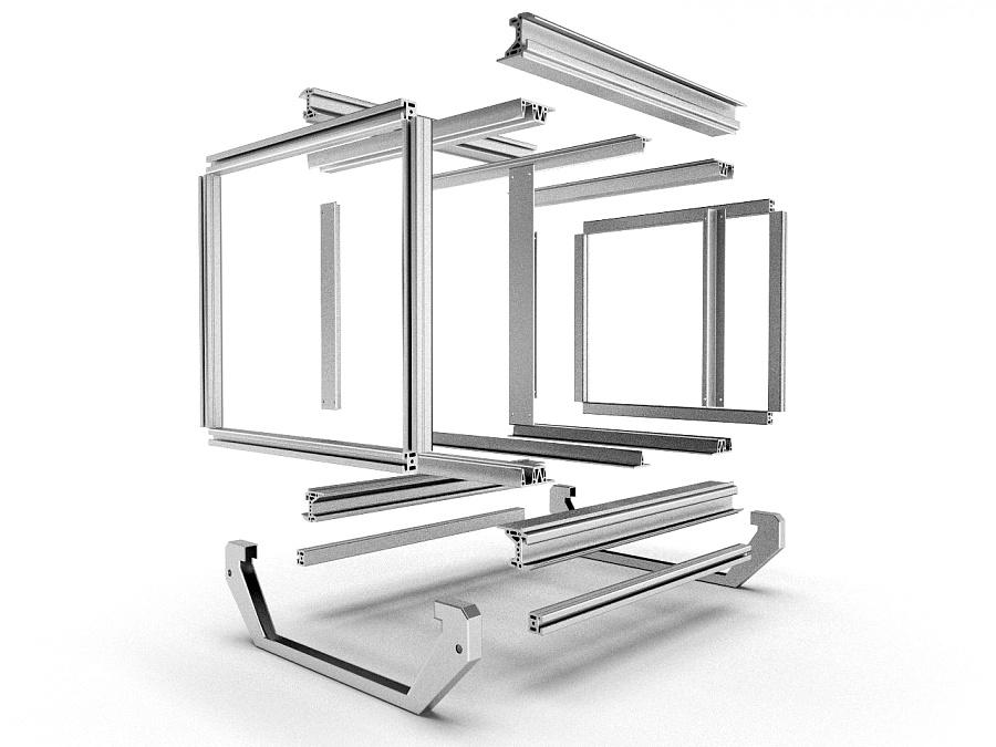 油烟过滤器外观与结构设计-4