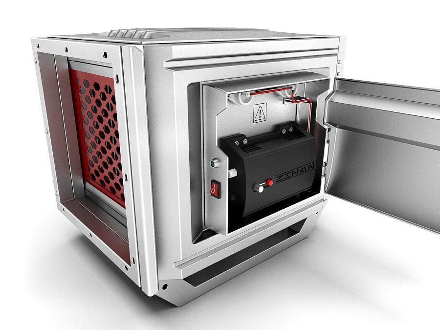 油烟过滤器外观与结构设计-6